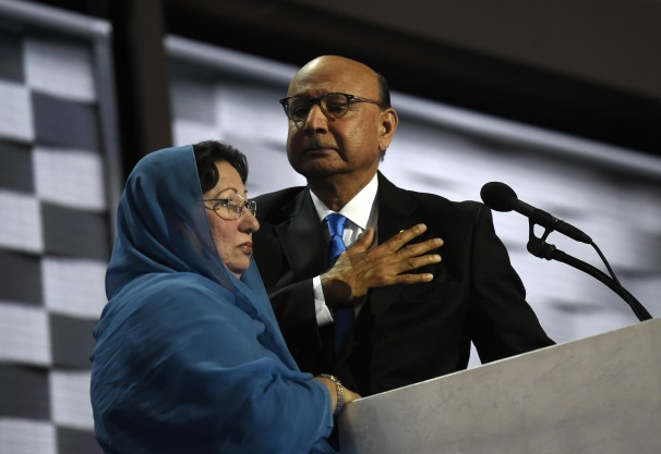 pakistani american immigrant khizr khan whose son humayun was killed in iraq while serving in the us army photo inusanews