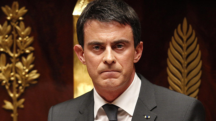 prime minister manuel valls said last week that he would consider a temporary ban on foreign financing of mosques photo reuters