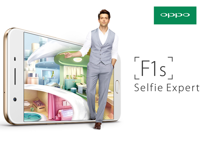 selfie expert oppo pakistan launches f1s with 16mp frontcamera