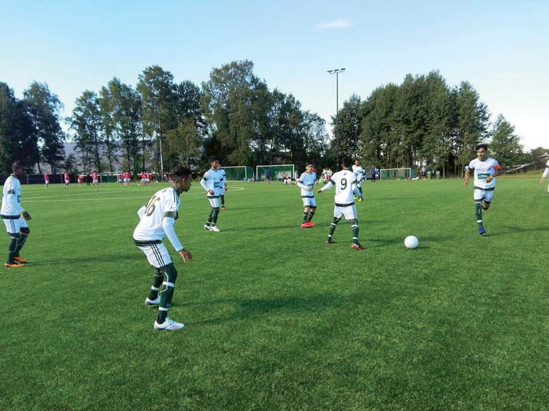 street child team advances to norway cup knockouts