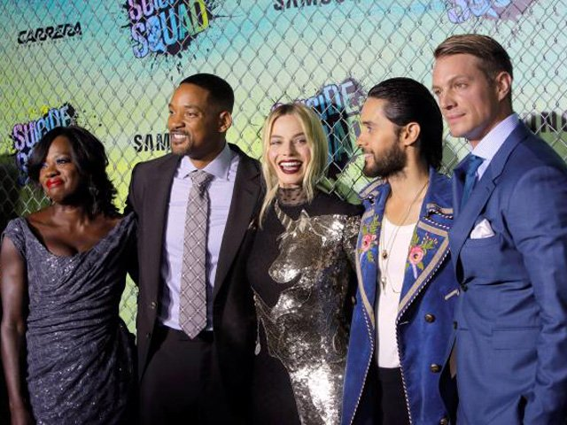villains at play in anti hero movie suicide squad
