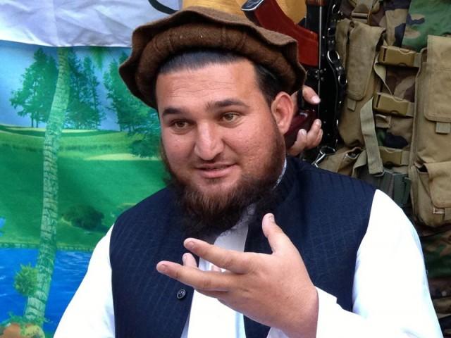 TTP Jamat-ul Ahrar spokesperson Ehsanullah Ehsan. PHOTO: AFP