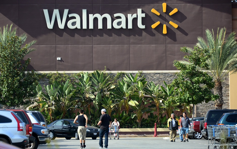 wal mart is beefing up its online retail operations in response to amazon and other competitors photo afp