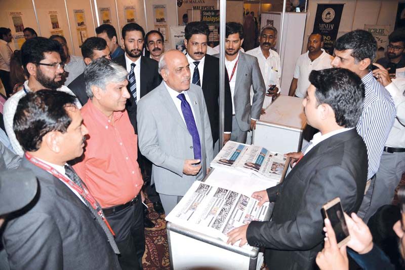 express education expo draws students academicians