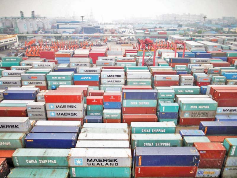pm aide was informed that prior to the covid 19 outbreak at the end of feb 2020 pakistan s exports were on an upward tra jectory photo reuters