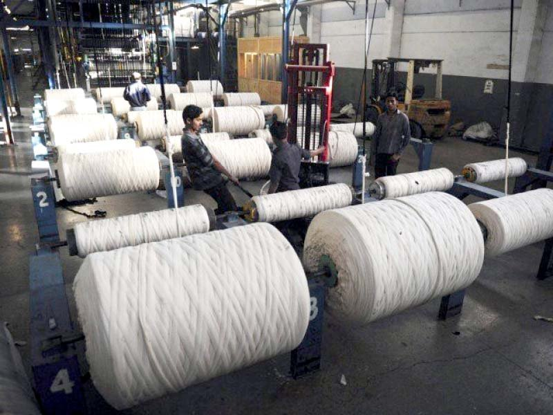 taurus securities said the recovery of textile sector could be attributed to the ease in lockdowns and resumption of full opera tions photo file