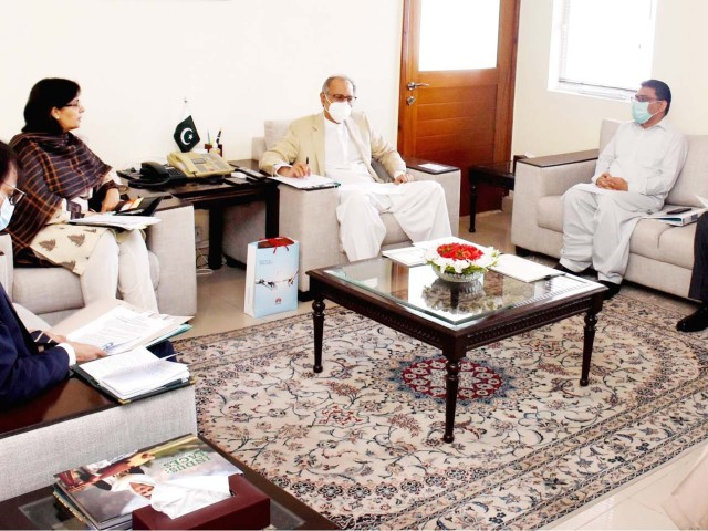 meeting discusses preparations for ehsaas cash