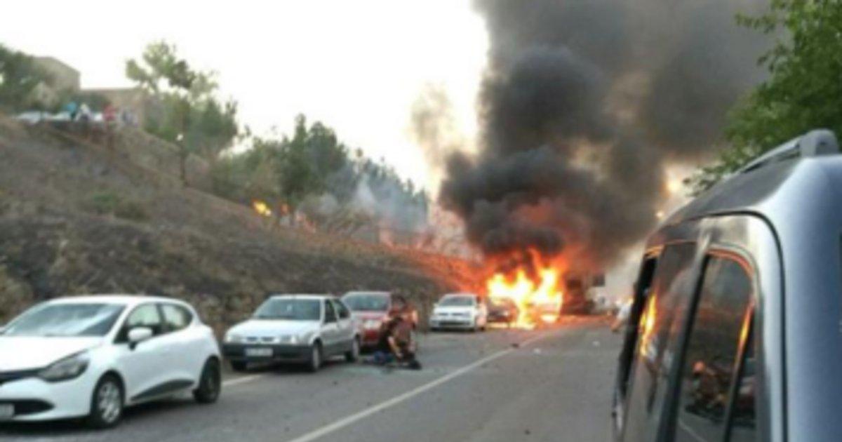 13 killed in turkey bomb attacks cross border fire