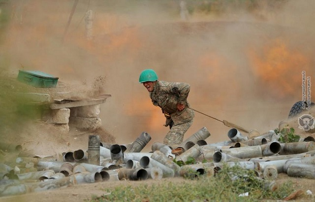 azerbaijan armenian forces fight new clashes international tension mounts