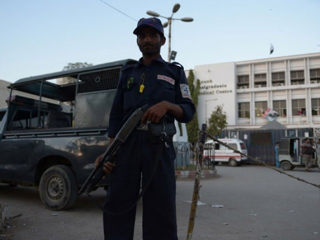 cjp asks sindh govt to remain vigilant warning of militants working in guise of security personnel photo afp