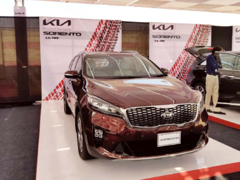 the sorento model by kia is a seven seater suv that will be available in three variants and seven colours photo express