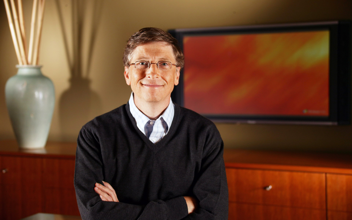 bill gates talks about conspiracies climate change and burgers in reddit ama