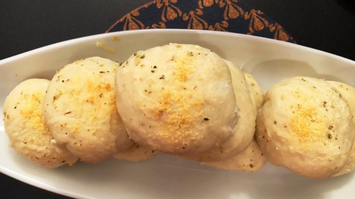 recipe garlic and herb cheese bombs