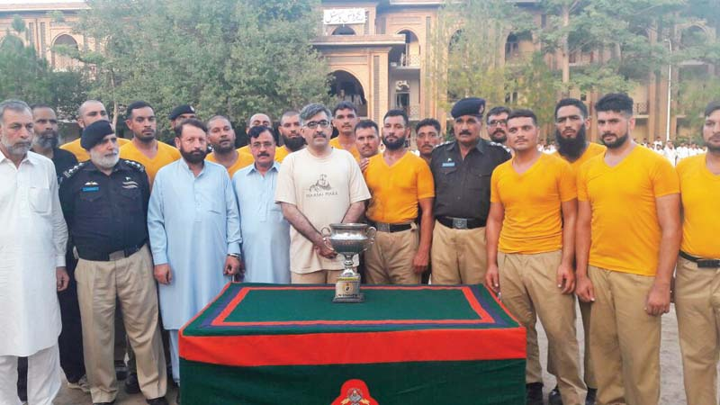 fitness first sports festival concludes in hangu
