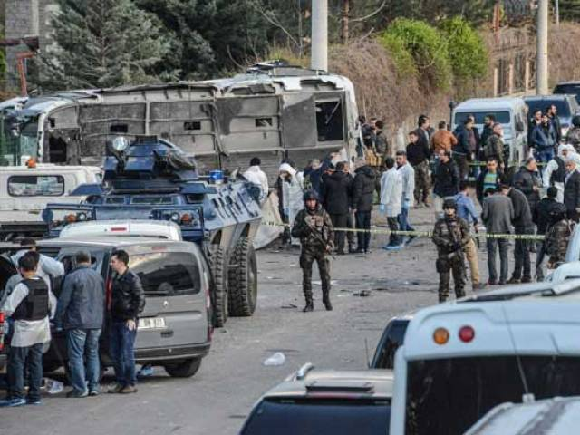 several wounded in explosion in turkey s southeast   sources