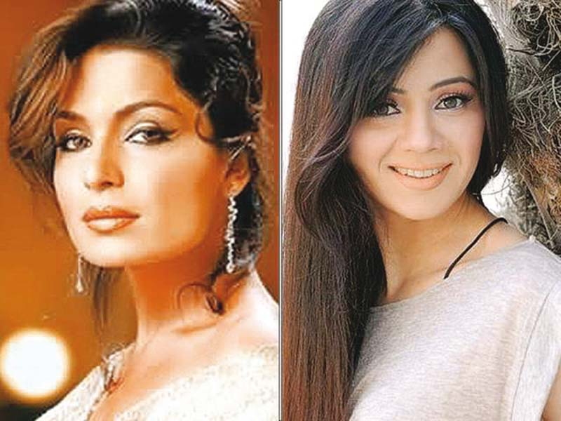 Meera and Rabi Pirzada play lead roles in Shor Sharaba. PHOTOS: FILE