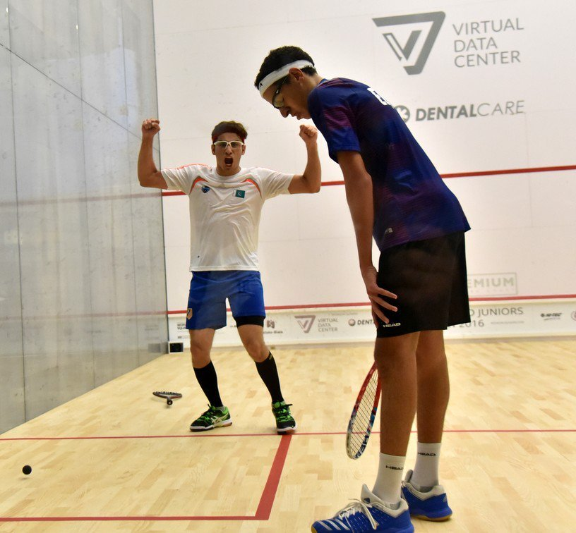 pakistan stun top seed egypt to win world junior squash championship