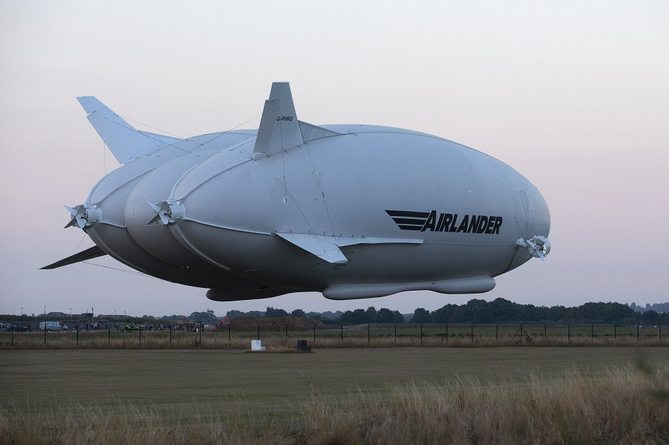 world s largest aircraft gets off ground