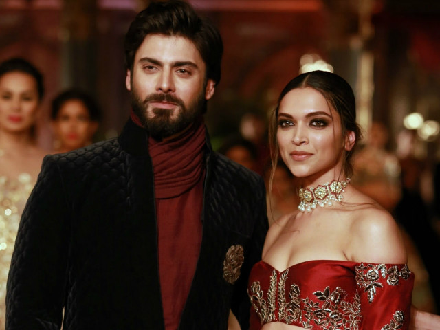 Deepika just can't stop fangirling over Fawad! PHOTO: INDIAWEST