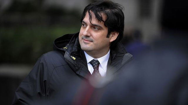 Paul Ceglia, exits federal court in New York on November 28, 2012. PHOTO COURTESY: BLOOMBERG
