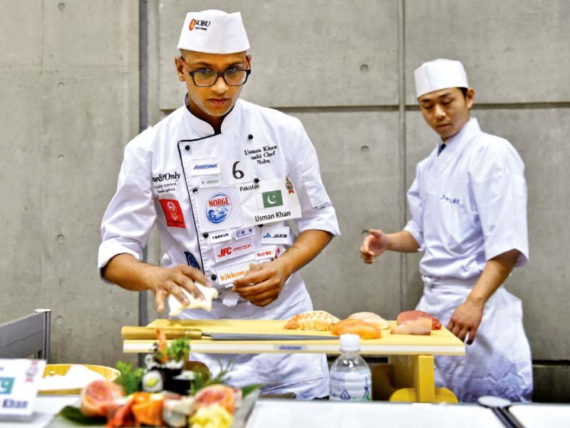 pakistani chef reaches world sushi cup final