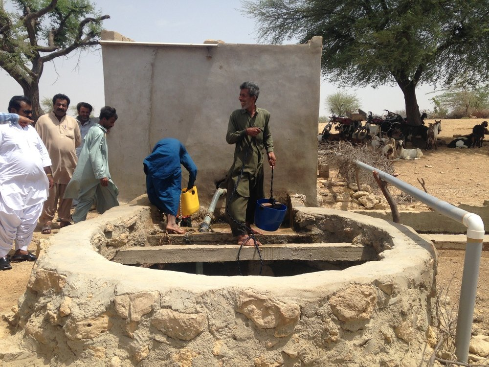 The start-up is planning to now expand operations to two more villages in Sindh. PHOTO: GOATSFORWATER.COM