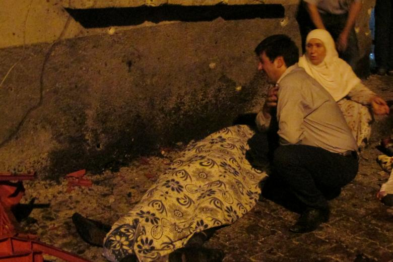 death toll in turkey wedding bomb attack rises to 50