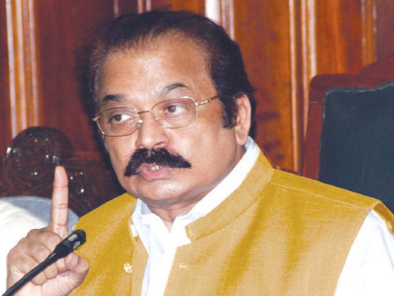 imran s claims about targeted killings baseless sanaullah