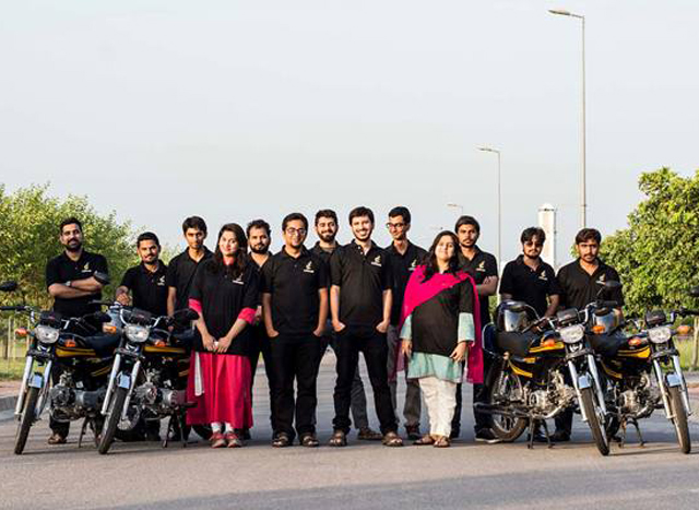pakistan s first motorcycle taxi service launches in islamabad