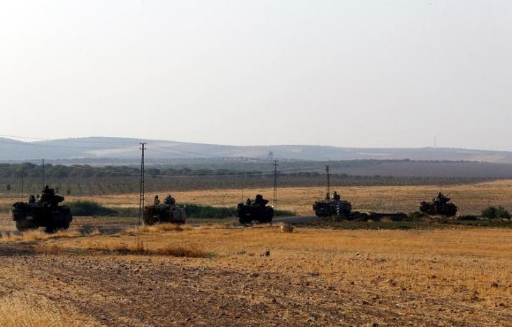 turkish army thrusts deeper into syria monitor says 35 villagers killed