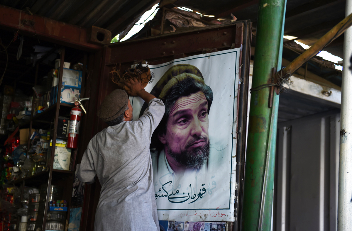 lion of panjshir ahmad shah masood s son ready to take up his afghan destiny