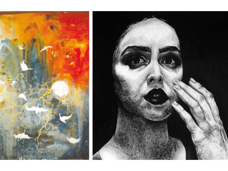 young artists group show features exquisite artwork