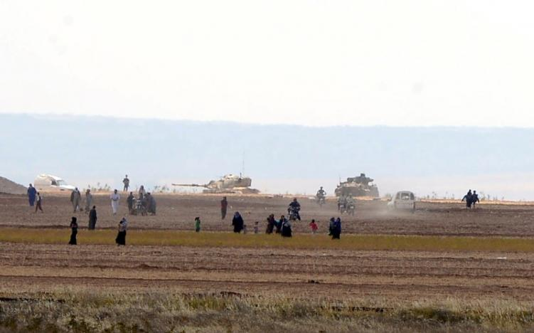 turkish tanks roll into syria opening new line of attack