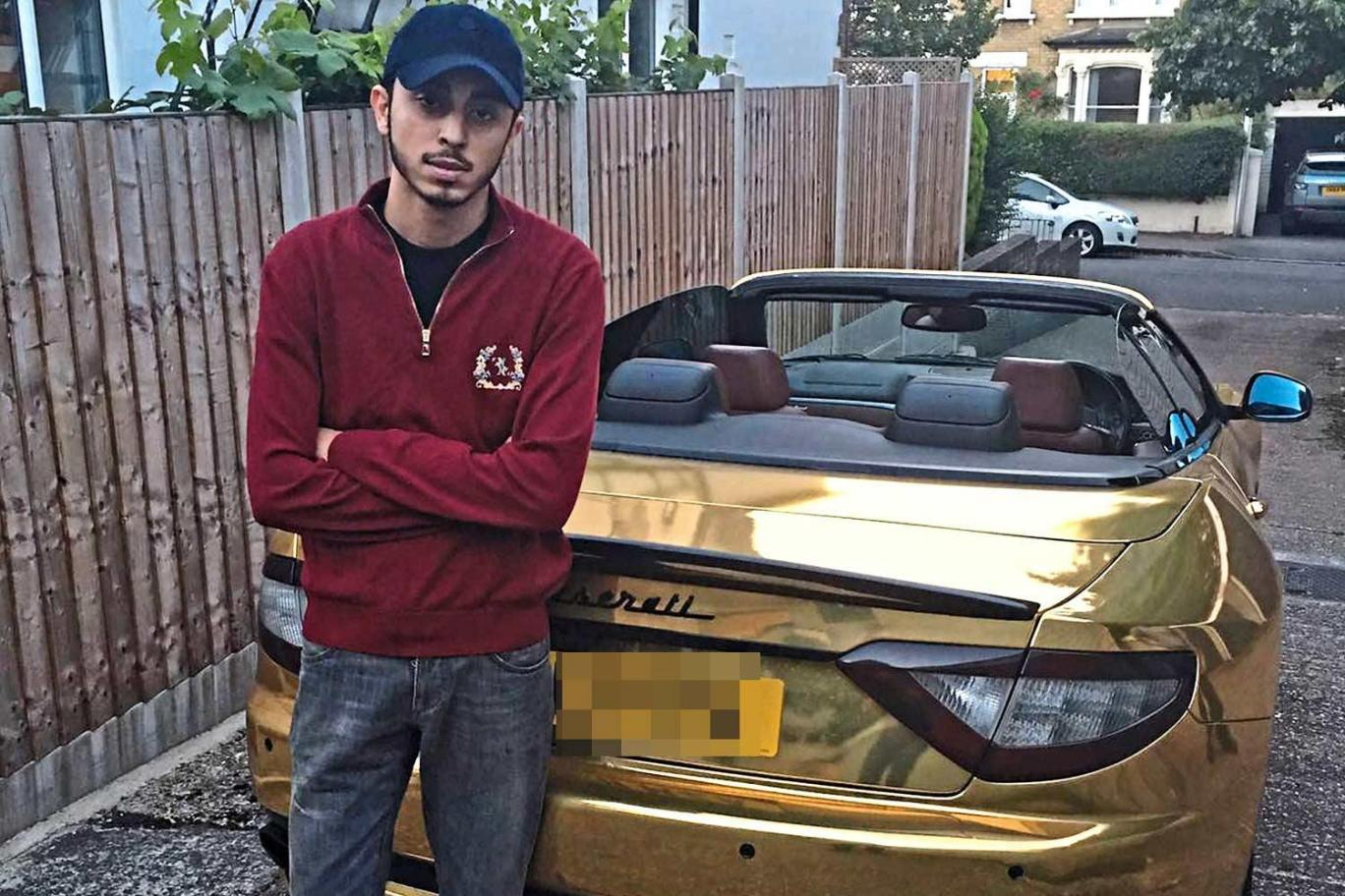 pakistani billionaire unfazed about gold plated maserati being impounded in london