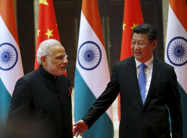 china says should constructively handle disputes with india