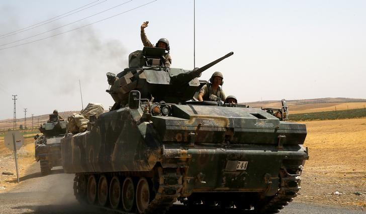 syrian forces besiege rebel held aleppo as turkish backed fighters drive islamic state from border