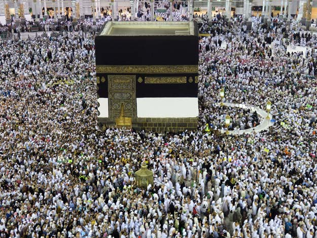 Muslim pilgrims circle the Kaaba at the Grand Mosque in Makkah September 4, 2016. PHOTO: REUTERS