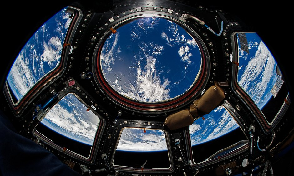 in pictures through the eyes of an astronaut