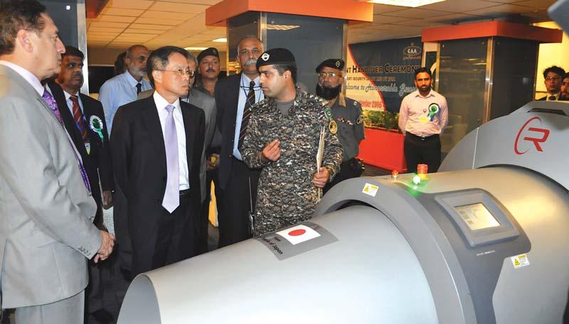 japan donates equipment for pakistan airports