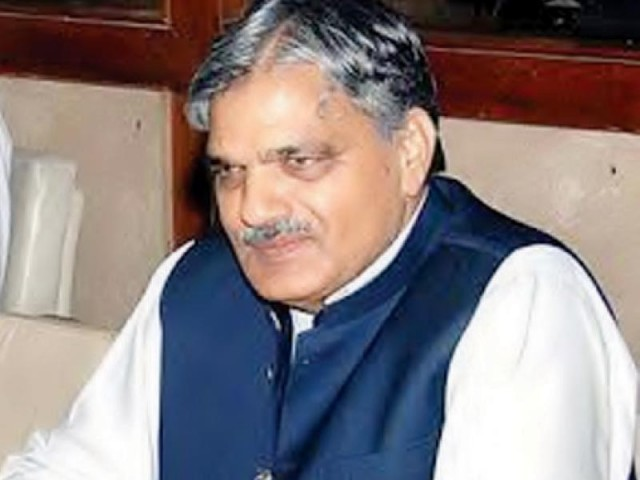 Minister for Gilgit-Baltistan and Kashmir Affairs Chaudhry Barjees Tahir. PHOTO: FILE