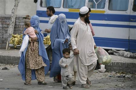 a file photo of afghan refugees in pakistan photo reuters