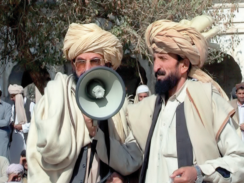 they called upon the officials in charge of both civil and military administration to take notice of these injustices otherwise the protesters would start agitation not only in north waziristan and bannu but also in peshawar and islamabad photo express
