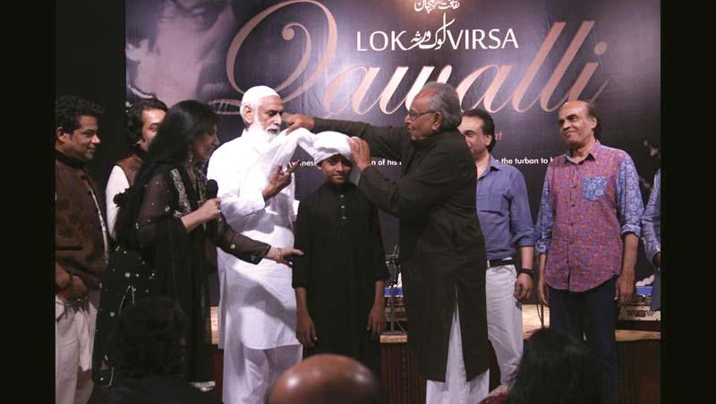 qawwali programme lok virsa pays tribute to bakhshi salamat
