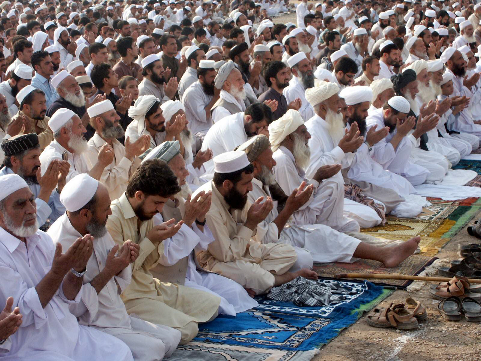 big day eid celebrated in tiny pockets across k p fata