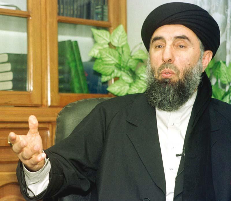 Hizb-e-Islami leader invites Taliban leaders for peace negotiations. PHOTO: FILE