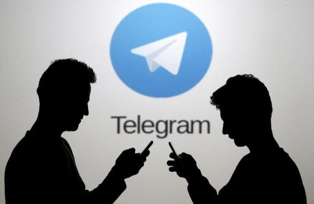 Telegram offers encrypted messages PHOTO: REUTERS