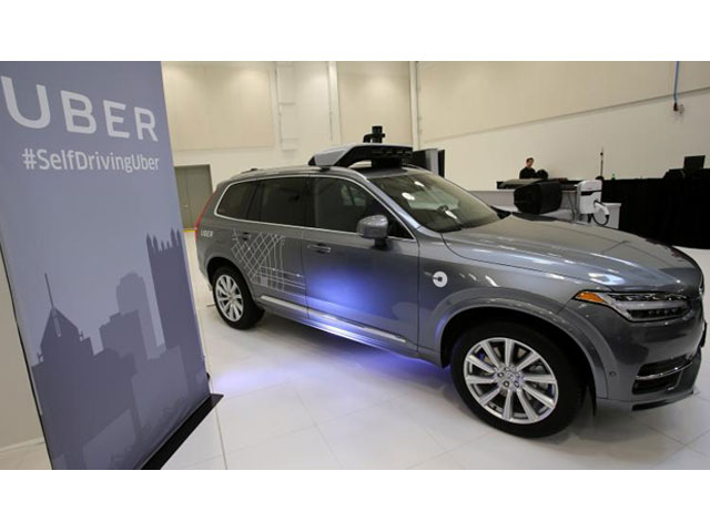 uber 039 s volvo xc90 self driving car is shown during a demonstration of self driving automotive technology in pittsburgh pennsylvania u s september 13 2016 photo reuters