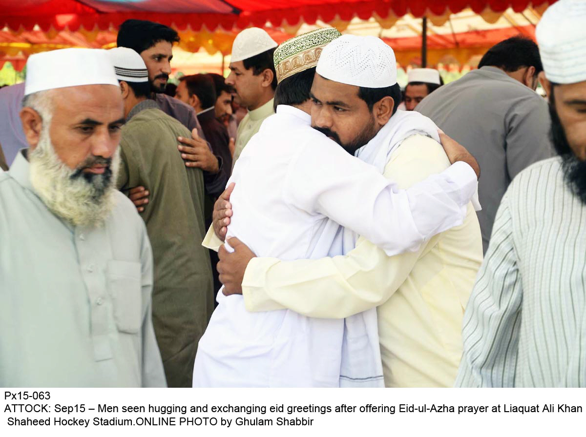 pre pandemic days communal eid prayers were arranged at the city s major mosques photo online