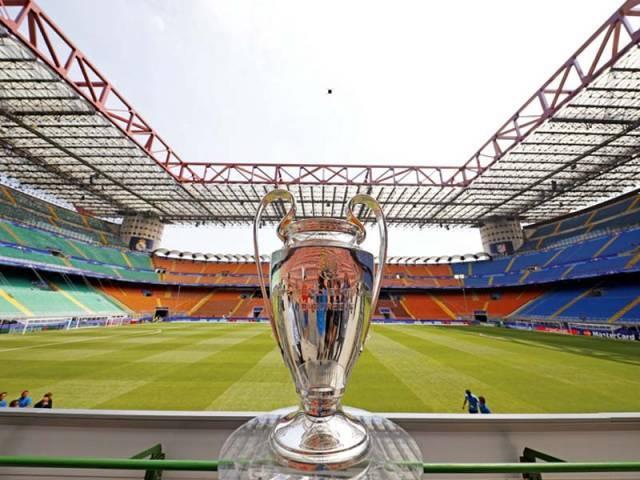 the champions league trophy photo reuters