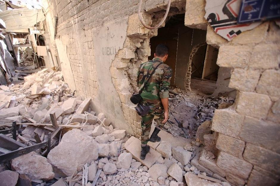 coalition raid hits syria army as truce wavers